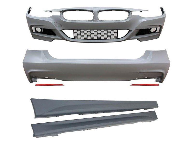 BMW F30/F31 Upgrade to M Performance Style Body Kit , , ,